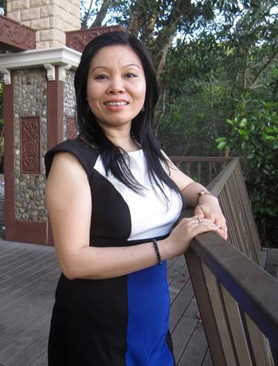 Hành trình giảm cân của doanh nhân Tina Thủy